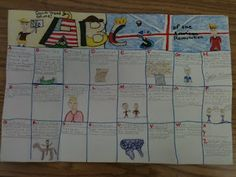 ABC foldable: American Revolution, but can be used with any topic classroom, histori, idea, school, revolutions, educ, american revolut, teach, social studi