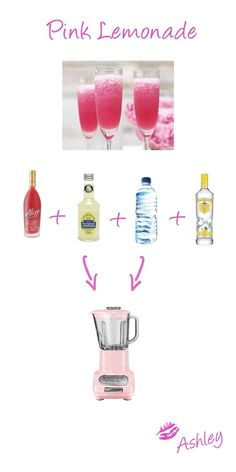 pink lemonade recipe     #drink #summer #cocktail #ideas #party recipes