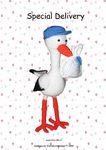 Special Delivery Stork free crochet pattern by Marike van Loo (2009)
