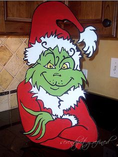 Grinch theme Christmas decorating by Serendipity Refined