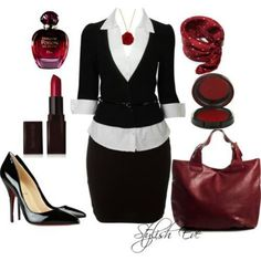women's work suits | classy work clothes | Business Attire - Women