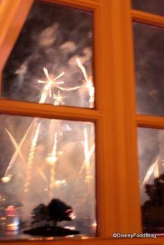 Best Disney World Restaurants for Fireworks Viewing: Part II | the disney food blog
