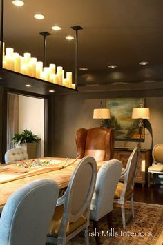 Northern California Casual - dining room