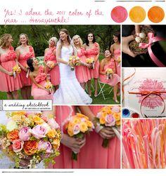 Wedding Themes Coral