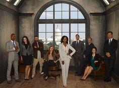 """ABC """"Scandal"""" Cast"""