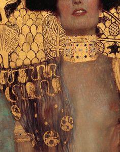 Gustav Klimt, Judith I (detail) 1901