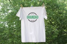 Distressed Personalized Grandpa or Father - Father's Day Shirt