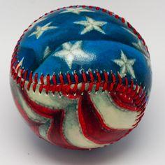 baseball season, jar, stripe