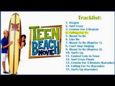 04 Falling For Ya - Teen Beach Movie Soundtrack (Full Song)