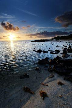 Meditation during sunrise in Mauritius (http://www.facebook.com/BeautyOfMauritius)