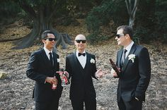 We love a bit of classic groomsmen style paired with sunnies