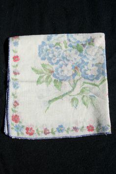 Vintage Handkerchief by PostScriptSociety on Etsy, $5.00