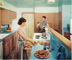 1958: The kitchen
