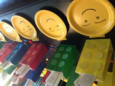 Lego party place settings