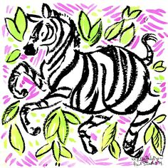 Playing in print #lilly5x5