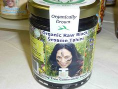 Living Tree Community Foods raw organic black sesame tahini can be purchased online.