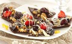 nut bark, chocolates, weight loss, chocol multifruit, dark chocol, eat right, nuts, healthy recipes, berries