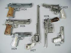 D-Eagle, 1911, Buntline Spl, Mauser, S&W; 19, Browning