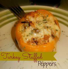 Turkey Stuffed Peppers