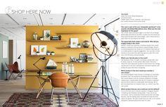 desk area, wall colors, interior, open shelves, shops