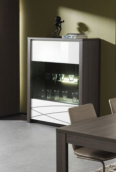 argentier vaisselier design argentier vaisselier contemporain by hcommehome on pinterest led. Black Bedroom Furniture Sets. Home Design Ideas