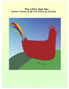 This Little Red Hen reader's theatre script is especially written for emergent readers with simplified language and repetition. Also includes follow-up activities.