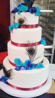 Peacock Wedding themes so cool