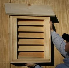 27 Bat House Plans: for keeping the mosquito population down around here!