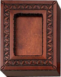 Miniature frame & keepsake box