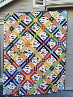 Child's quilt  #quilting #longarmquilting #machinequilting #tinlizzie18
