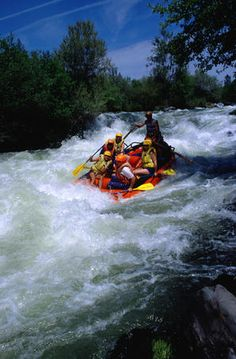 Whitewater rafting, Rogue River, Oregon