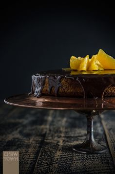 Orange Chocolate and Honey Cake