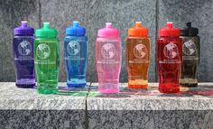 museum store, logo water, bottl 27oz, water bottles