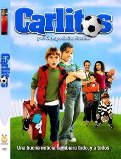 """Carlitos y el Campo de los Sueños transl. """"Carlitos and the Field of Dreams"""" (also called """"Carlitos and the Chance of a Lifetime"""") Carlitos, a 12yo orphan, sneaks out of the orphanage with the help of his fellow inmates, in order to play for Spain's junior national team. The orphanage's maintenance man becomes the team's coach. The pair help win the European Junior Cup.  In Spanish with English subtitles."""