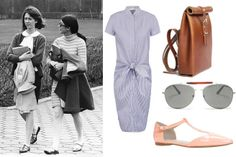 A modern take on pretty preppy.  How to Master the Preppy Look - 7 Sisters Style - Elle