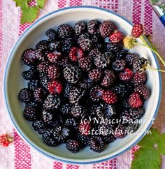 first wild black raspberries of the season no they are not black ...