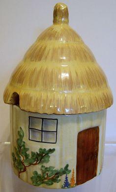 Carlton Ware Cottage Ware Preserve Pot  - early 1930s