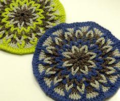 LOVE crocheted trivets featured on Twinkle&Twine @Rebekah Canavan