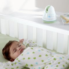 Help your baby sleep while monitoring via smartphone or tablet with Tranquil Moments Baby Monitor & Sleep Sounds.