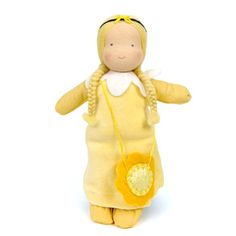 Buttercup Flower Girl Doll - The Wooden Wagon