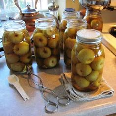 Honey Cinnamon Crab Apples