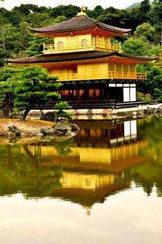 Kinkaku-ji temple, K
