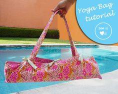 Yoga mat bag pattern