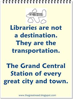 Bless my mom...she took me twice a week to our public library.  Plus my regular raids of our school library kept me hip deep in pages :) libraries, librari quot, bookish, transport, librarian stuff, bookslibrari ahead, read, bibliophil, librari specif