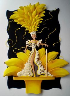 """Carnival Paper (paper sculptures) by Carlos Meira for an exhibition called """"Folia de Papel."""""""