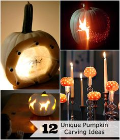 12 unique pumpkin carving ideas