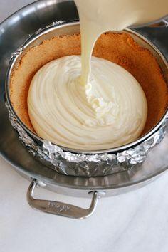 The Best Mascarpone Cheesecake