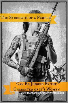 Guns firearms women's strength