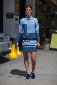 jean, fashion weeks, spring fashion, street styles, denim, street style fashion, new york fashion, spring 2014, week spring