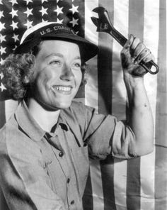 A female member of the US Coast Guard, WW2 ~